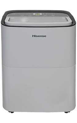 50-Pint Capacity, 1000 sq. ft. coverage, 2-Speed Dehumidifier