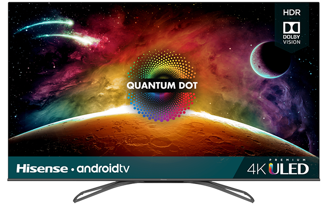 "4K Premium ULED Hisense Android Smart TV (64.5"" diag)"