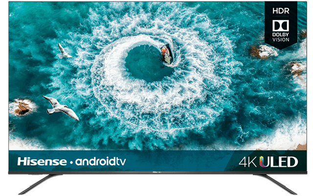 "4K ULED Hisense Android Smart TV (64.5"" diag)"