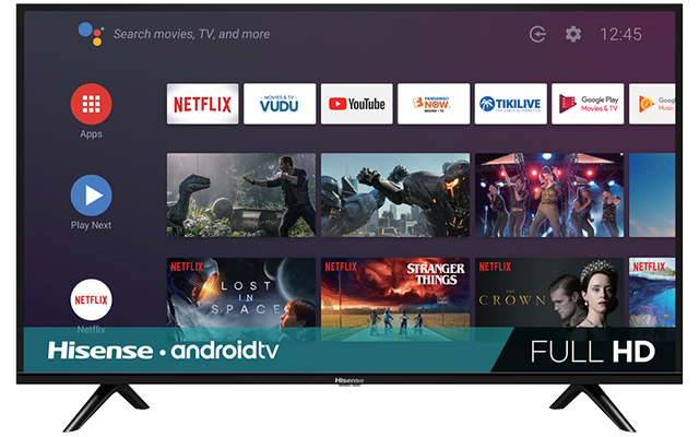 "HD Android Smart TV (31.5"" diag)"